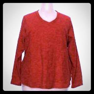 Red Sweatshirt, sz 1X
